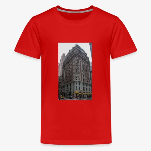 ein Haus in New York - Teenager Premium T-Shirt