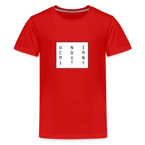 uni logo - Teenager Premium T-Shirt