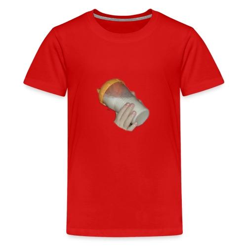 baby bottle - Premium T-skjorte for tenåringer