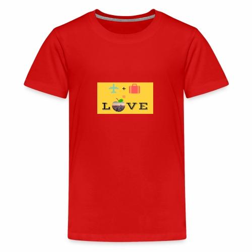 Love - Maglietta Premium per ragazzi