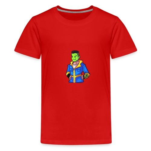 fallout emotes 022 - Teenage Premium T-Shirt