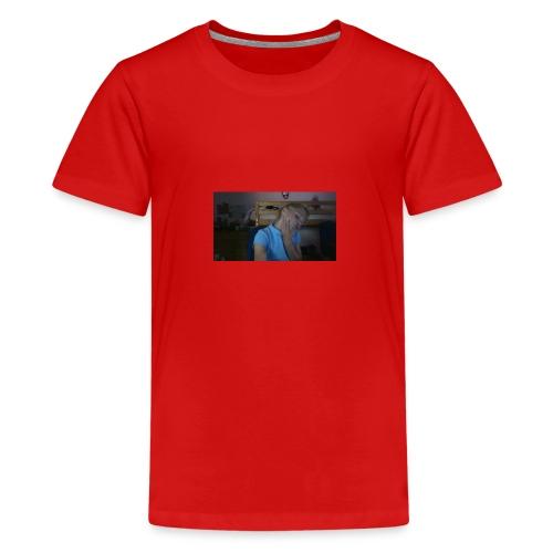 pink lazy hoodie - Teenage Premium T-Shirt