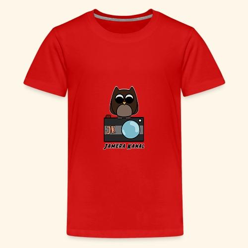 Die Jamera Eule - Teenager Premium T-Shirt