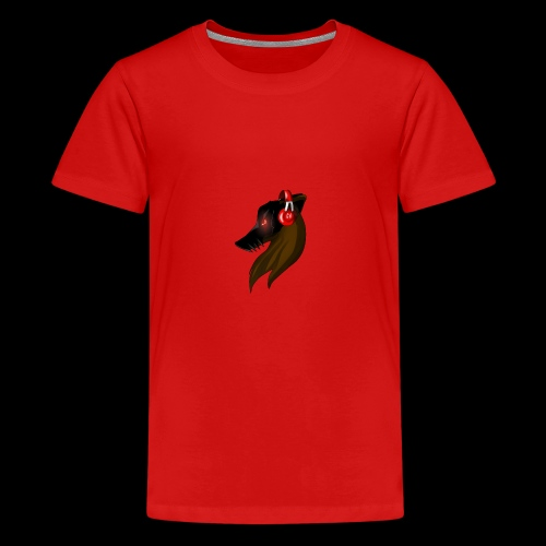 Shadow Wolf Logo - Teenager Premium T-Shirt