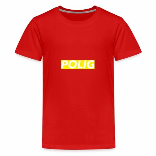Polig-BoxLogo - Teenager Premium T-Shirt