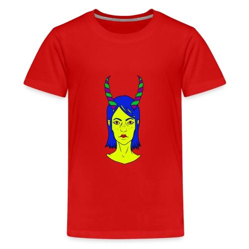 TheGirl - Teenager Premium T-Shirt
