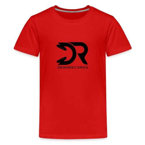 Denorecords Black Png - Teenager Premium T-Shirt