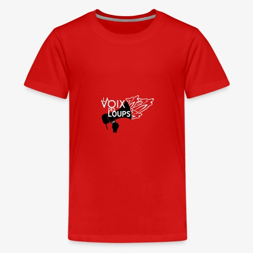 LVDL OFFICIEL 2017 TSHIRT ROUGE - T-shirt Premium Ado