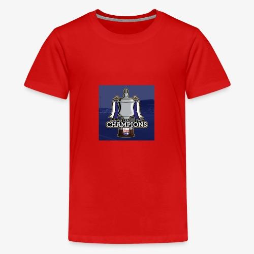 MFC Champions 2017/18 - Teenage Premium T-Shirt