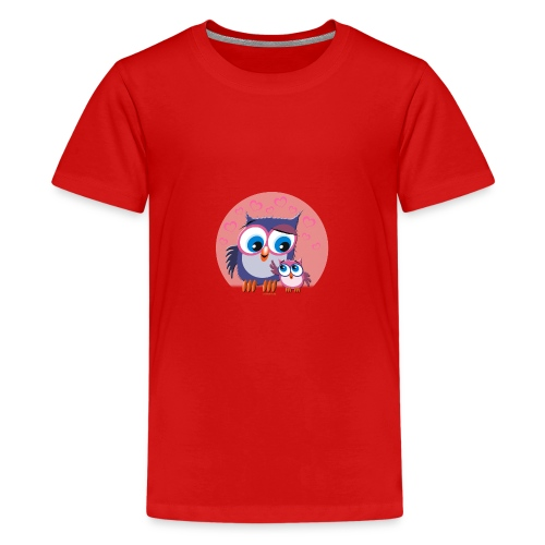 10-31 OWLS - PÖLLÖT - Teinien premium t-paita