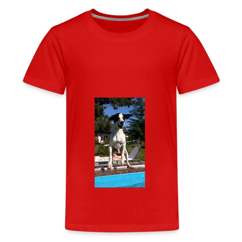 Süßer Hund - Teenager Premium T-Shirt