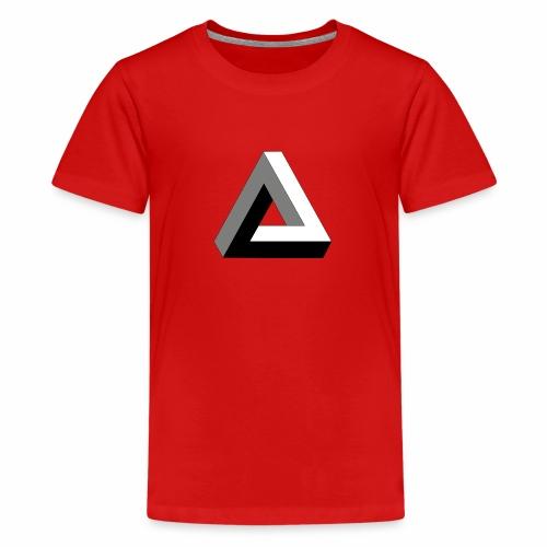 Das trendige Dreieck - Teenager Premium T-Shirt