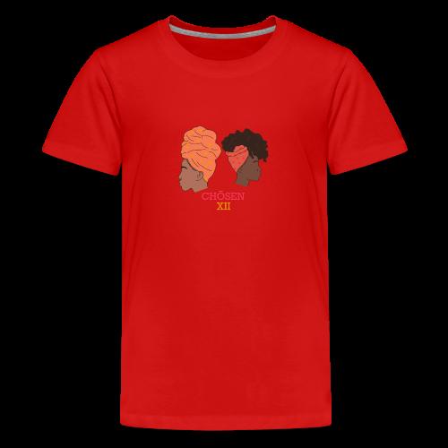 Headwrapped Princesses - Teenager Premium T-shirt