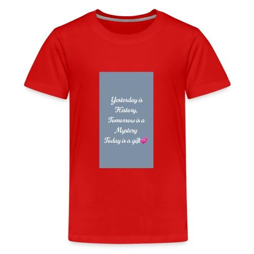 EFAFAEC9 B714 43F0 AB1D E5AD542F2593 - Teenager Premium T-Shirt
