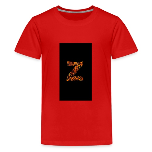 Das Z in tiger format - Teenager Premium T-Shirt