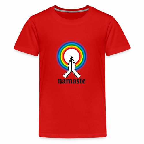 Namaste - T-shirt Premium Ado