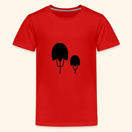Thick Happy Tree - Teenager Premium T-Shirt