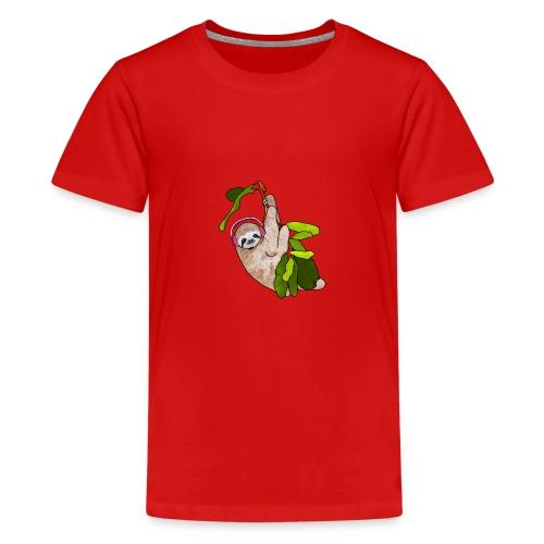 Dovendyr - Premium T-skjorte for tenåringer