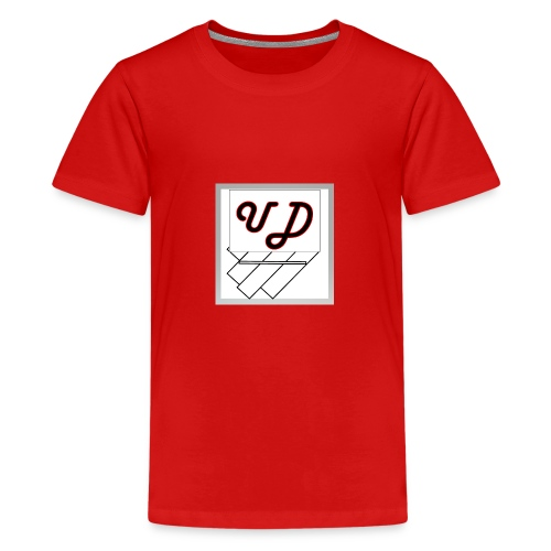 Abstract UD - Teenage Premium T-Shirt
