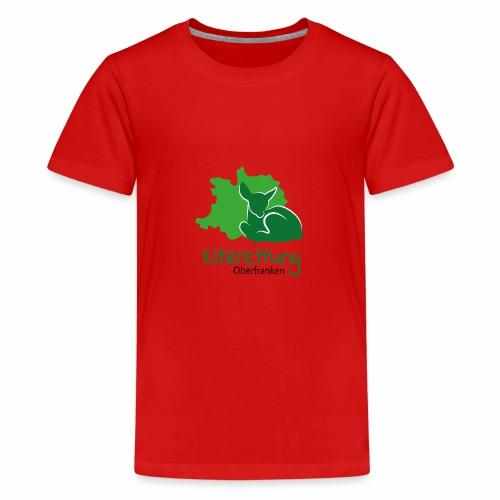 Kitzrettung Oberfranken - Teenager Premium T-Shirt