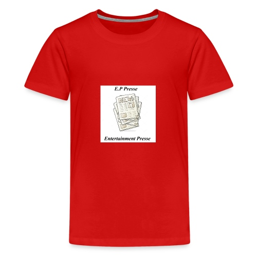 Enetertainment Presse Mode - Teenager Premium T-Shirt
