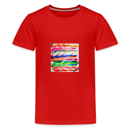 Rainbow Cross - T-shirt Premium Ado