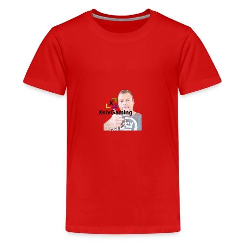 xsivgaming face - Teenage Premium T-Shirt