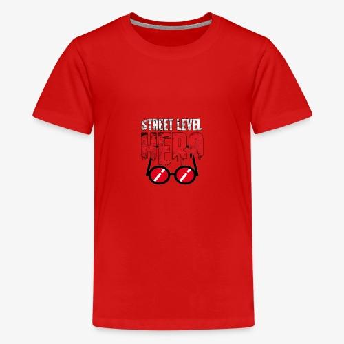 Street Level Hero - Teenage Premium T-Shirt