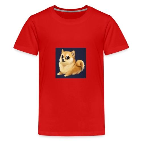 CuteDogiiShirt<3 - Teenager Premium T-Shirt