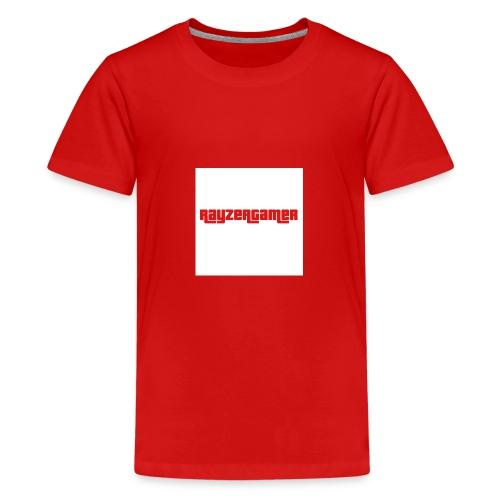 RayZerGamer logo - Teenage Premium T-Shirt