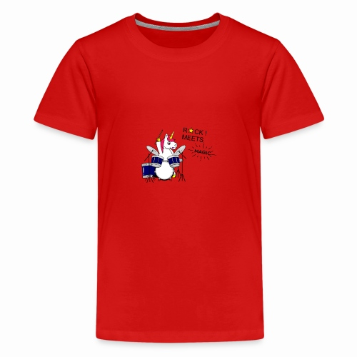 Einhorn Design - Teenager Premium T-Shirt