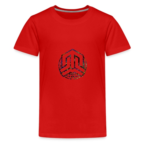 Cookie logo colors - Teenage Premium T-Shirt