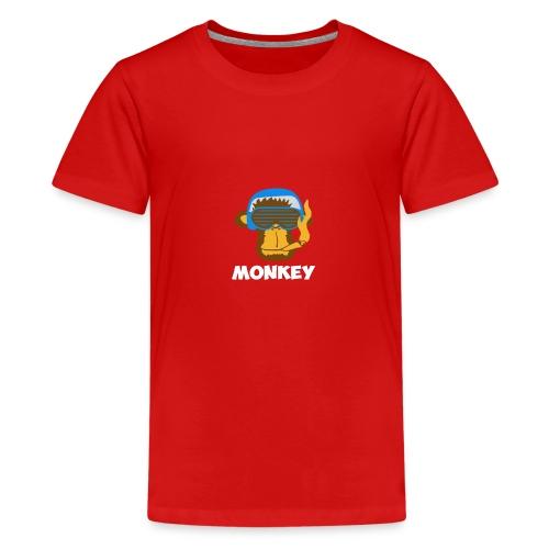 Affen - Monkey - Teenager Premium T-Shirt