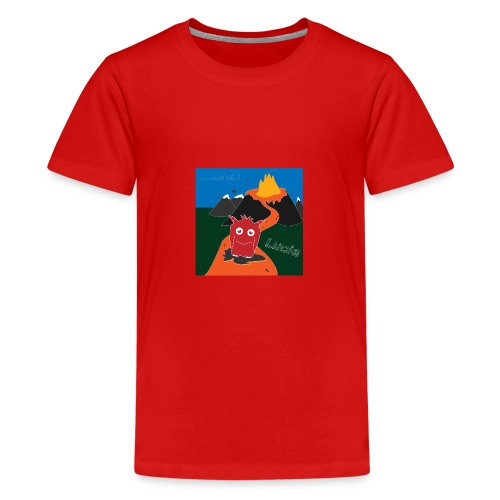 Inferno Lucie - Teenage Premium T-Shirt