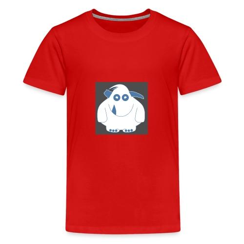 Pinky Monster - Teenage Premium T-Shirt