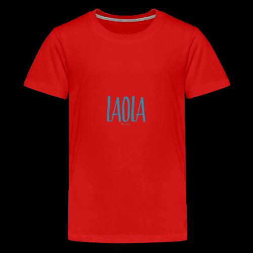 ola - Camiseta premium adolescente