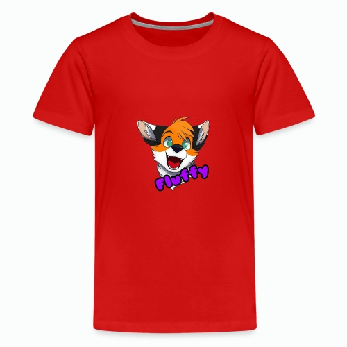FluffyTheFox Badge - Teenager Premium T-Shirt