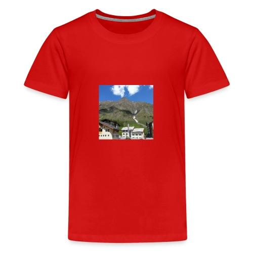 Berge Alm - Teenager Premium T-Shirt