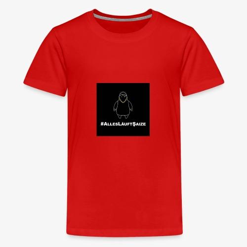 # Alles läuft Scheiße - Teenager Premium T-Shirt
