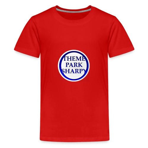 Theme Park Sharpy Brand - Teenage Premium T-Shirt