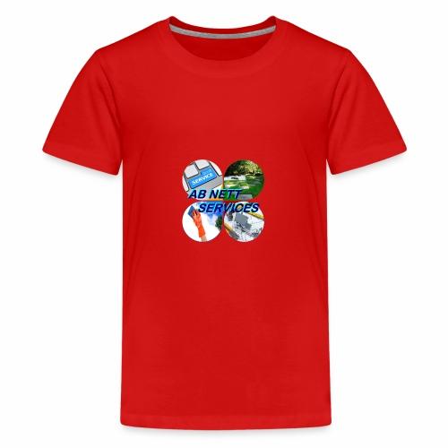 AB NETT SERVICES - T-shirt Premium Ado