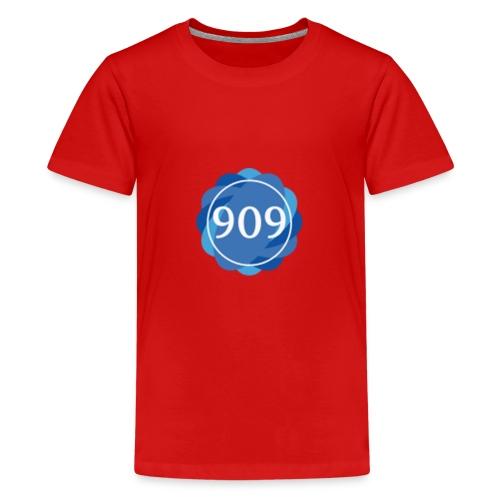 The Builders 909 Logo - Teenage Premium T-Shirt