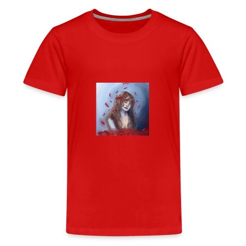 Water rose - Teenager Premium T-Shirt