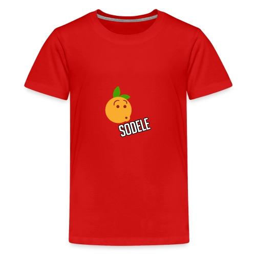 Sodele Orange - Teenager Premium T-Shirt