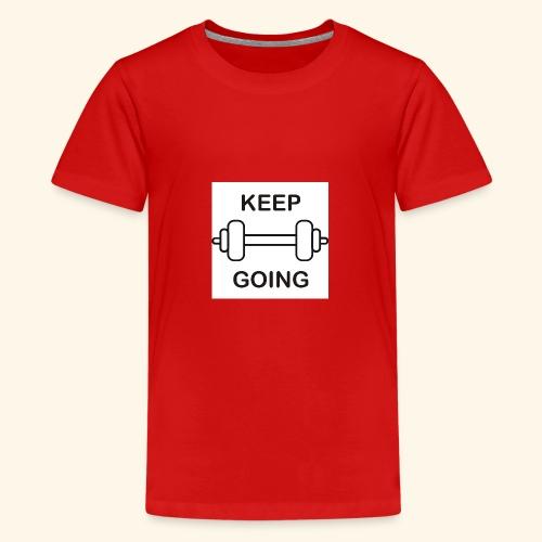 Keep - Camiseta premium adolescente
