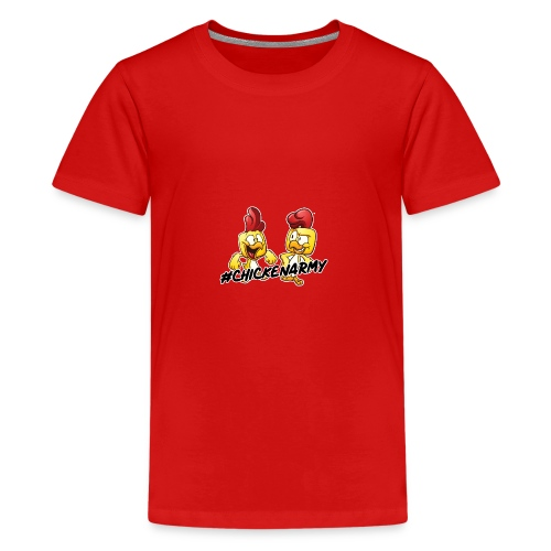 #ChickenArmy Design - Teenager Premium T-Shirt