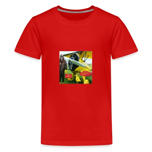 ARE YOU READY TO FLY - Teenage Premium T-Shirt