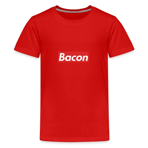 Bacon - Premium-T-shirt tonåring