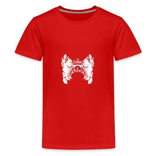 Oxygène blanc - T-shirt Premium Ado