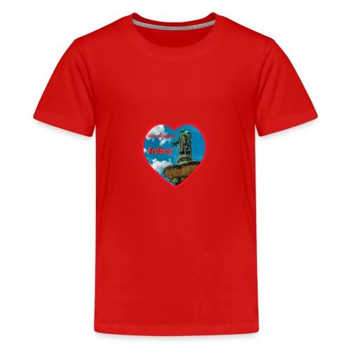Universitätsstadt Freiberg - Teenager Premium T-Shirt
